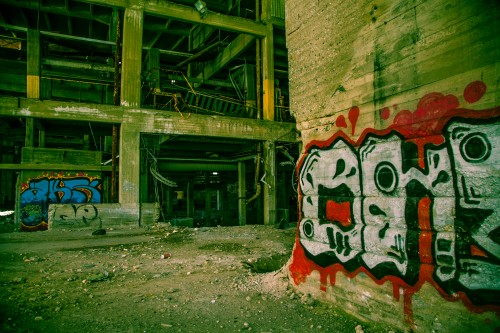 abandoned factory 1513206