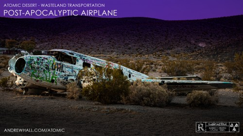 Post Apocalyptic Airplane